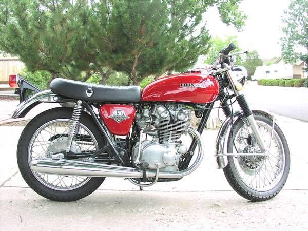 Vintage 1973 Honda CB450 DOHC