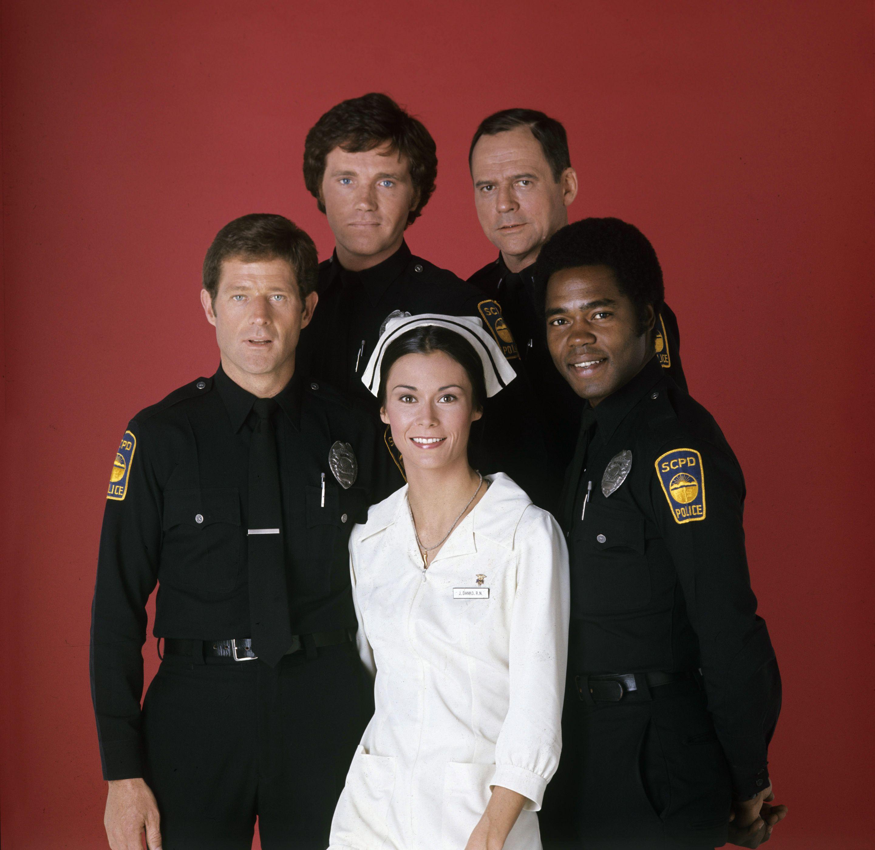 The Cast Of The Rookies, Sam Melville, Bruce Fairbairn