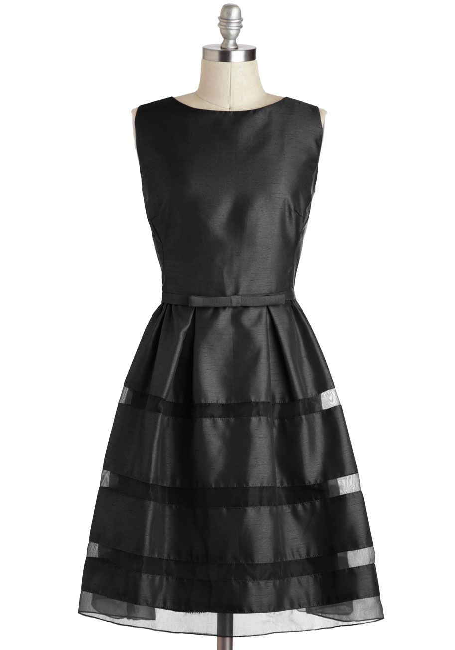 Beautiful Dinner Party Dress Part - 7: Dinner Party Darling Dress In Black, #ModCloth