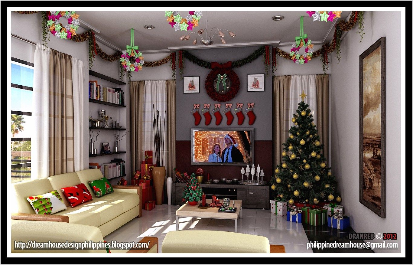 44 Simple Christmas Decorations Living Room Ideas 53 Living Room Decor Philip Simple Christmas Decor Living Room Wall Designs Christmas Decorations Living Room