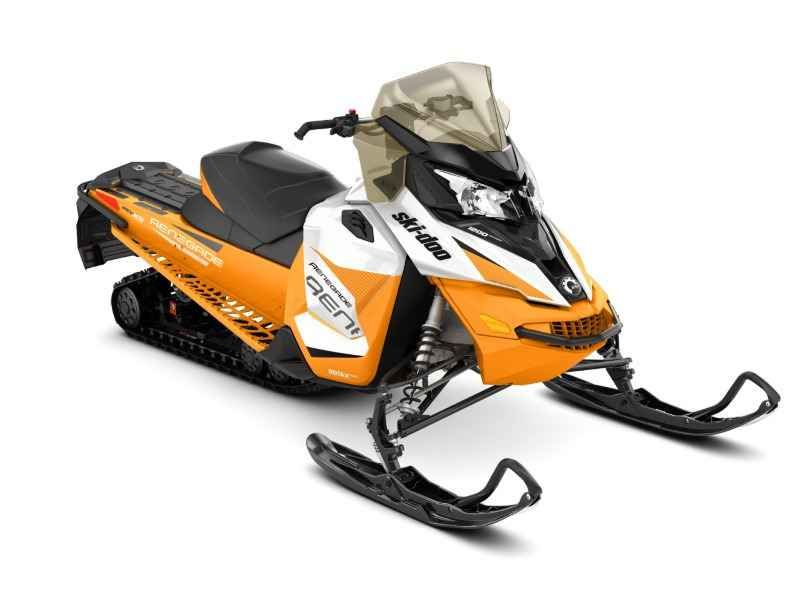 New 2017 Ski Doo Renegade Adrenaline ROTAX 1200 4 TEC White & Orange