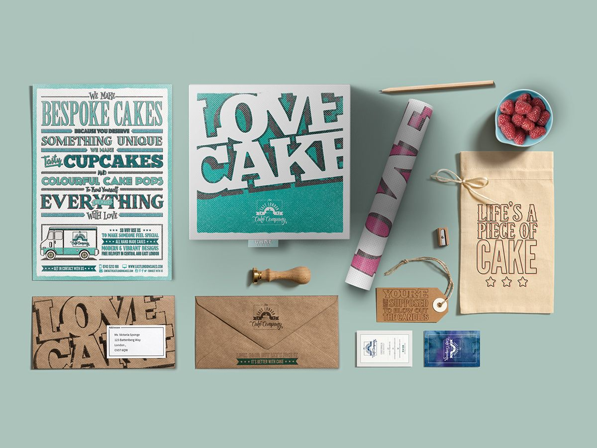East London Cake Company on Behance