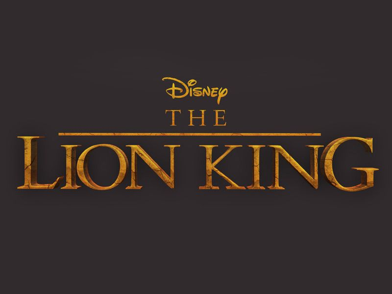 The Lion King Movie Style 3d Text Effect Psd With Logo 3d Text Effect Text Effects Lion King