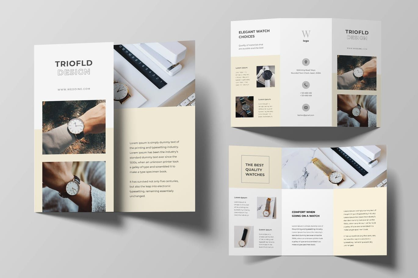 Watch Trifold Brochure By Uicreativenet On Envato Elements Free Brochure Template Trifold Brochure Template Trifold Brochure