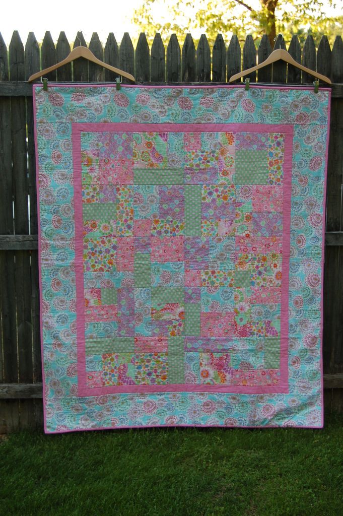 Addison's Big Girl Quilt | by thepinkpaintedgiraffe