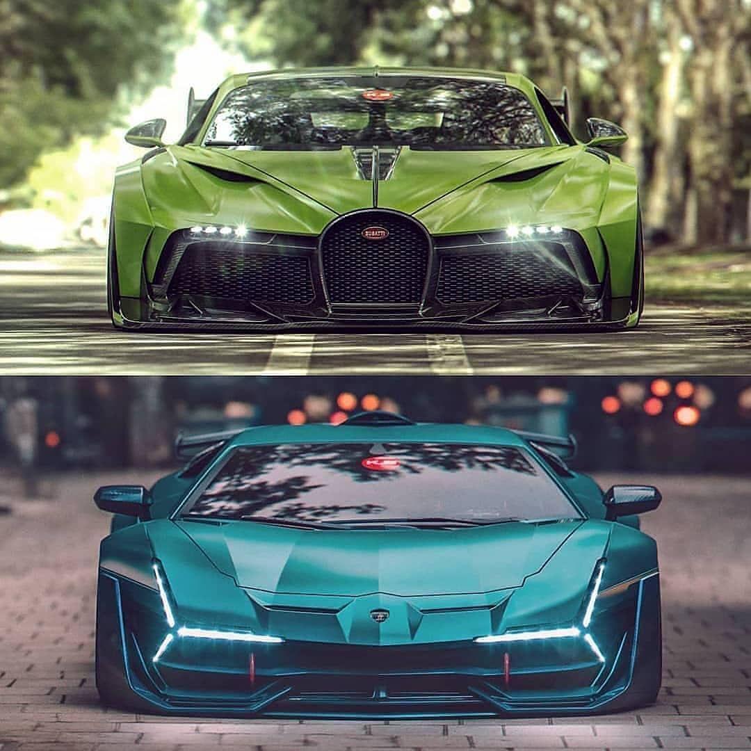 Bugatti Vs Lamborghini Sports Cars Bugatti Motor Car