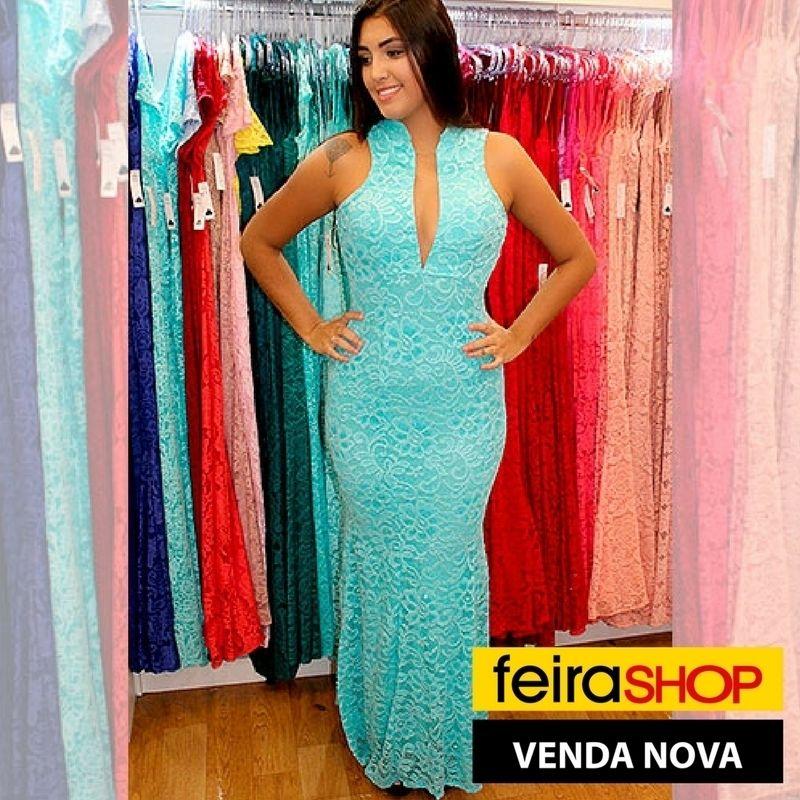 128c695db Pin de Feira Shop em Feira Shop Venda Nova | Feira shop, Vestido de ...
