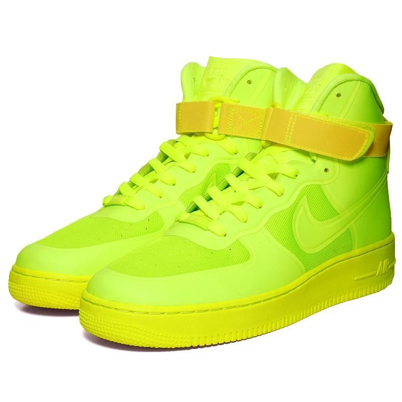 Nike Air Force 1 Hi Hyperfuse PRM Volt. O MY   For the