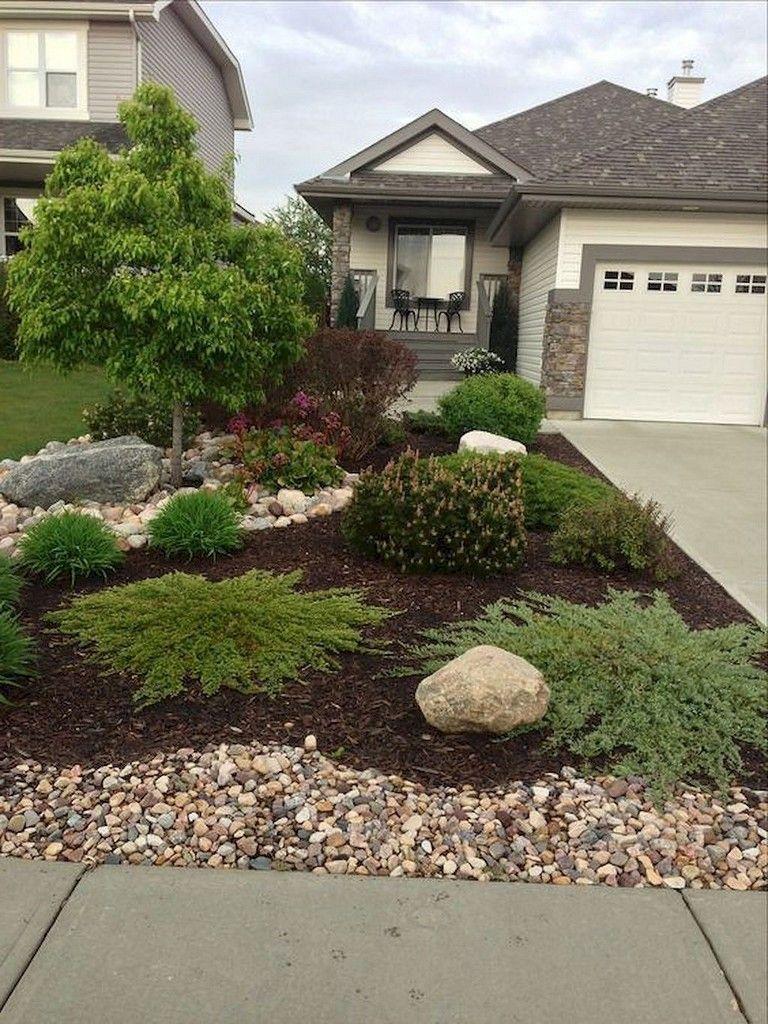 50+ Beautiful Front Yard Landscaping Ideas #smallfrontyardlandscapingideas