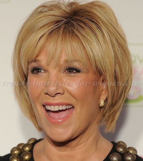 Image result for hairstyles for long faces over 60 | Womens ...