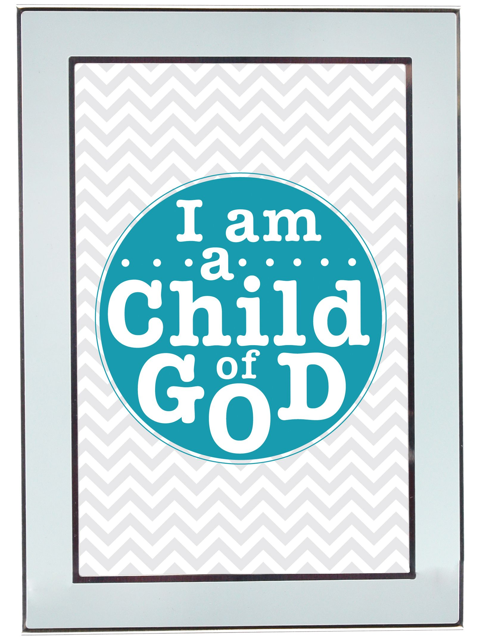 I Am A Child Of God FREE Printable In 4 Different Sizes