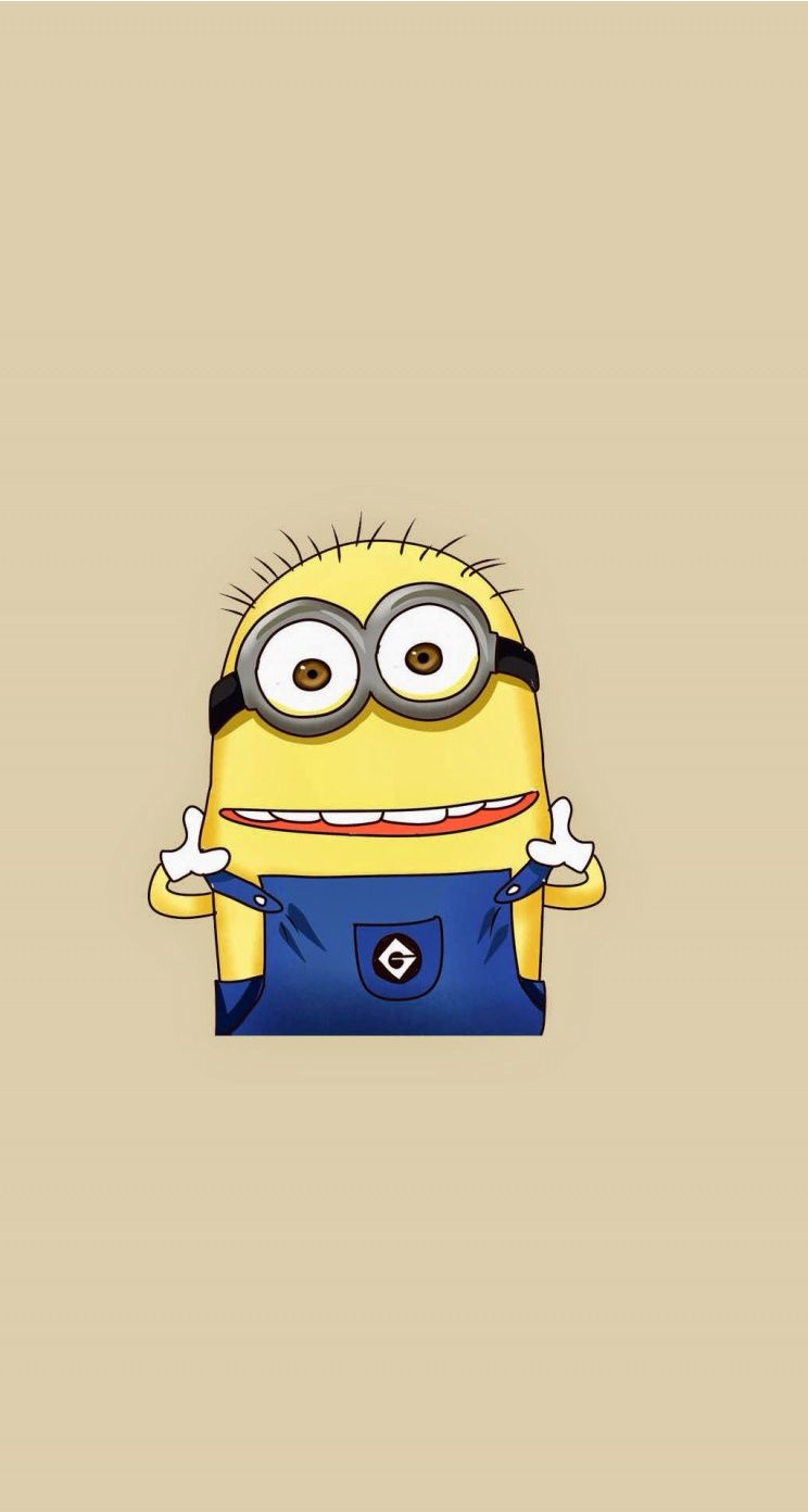 Tumblr iphone wallpaper minions - Tap Image For More Funny Minion Iphone Wallpaper Despicable Me Minion Smile Mobile9