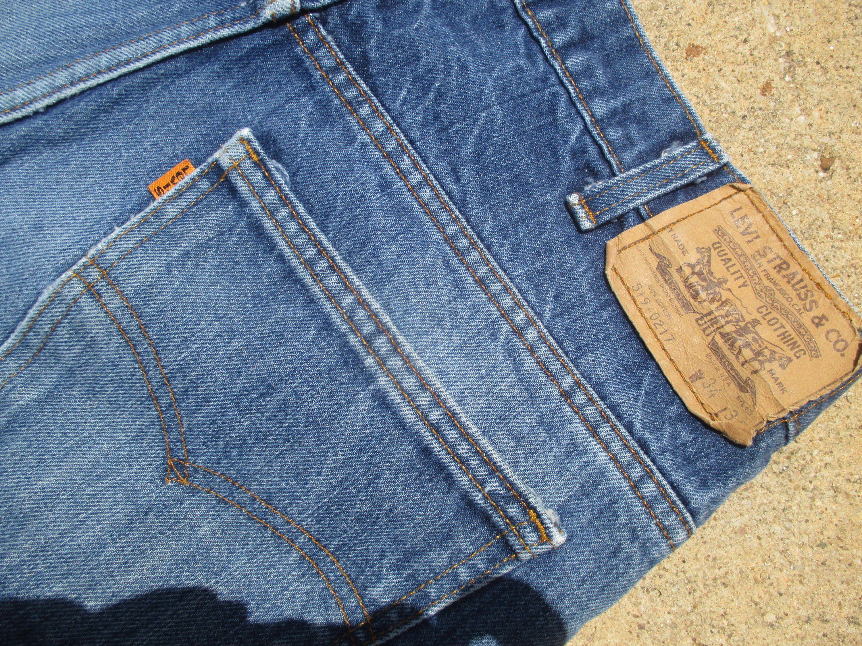 34x34 Levis 217 Jeans Classic Super Straight Levis Denim Etsy Vintage Denim Jeans Vintage Denim Disco Fashion