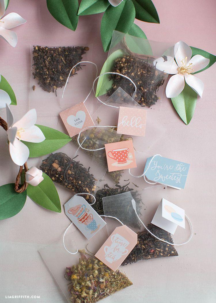 Printable tea tags tea tag teas and free printables