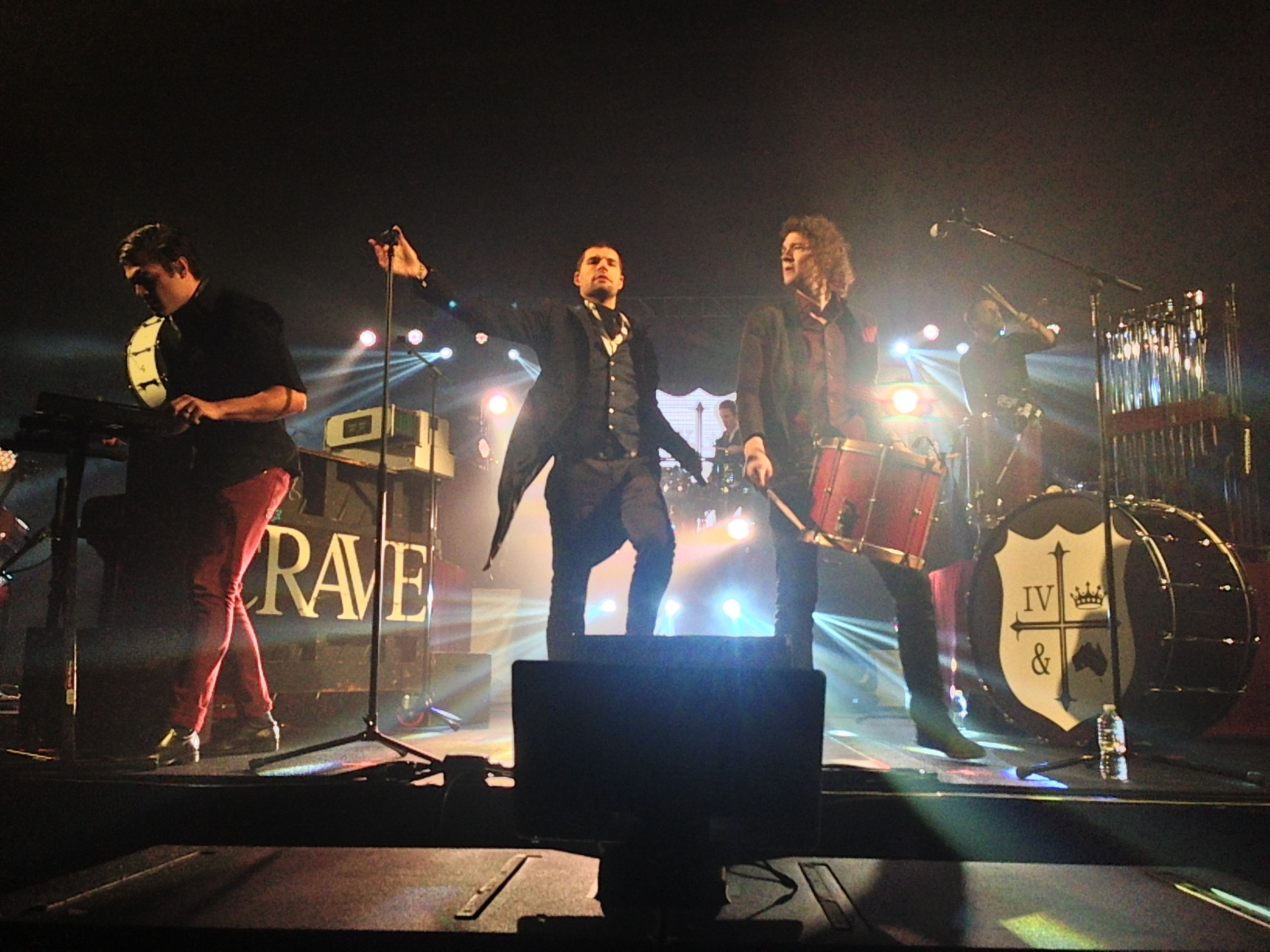 for KING & COUNTRY performing 'Baby Boy' on the KLOVE
