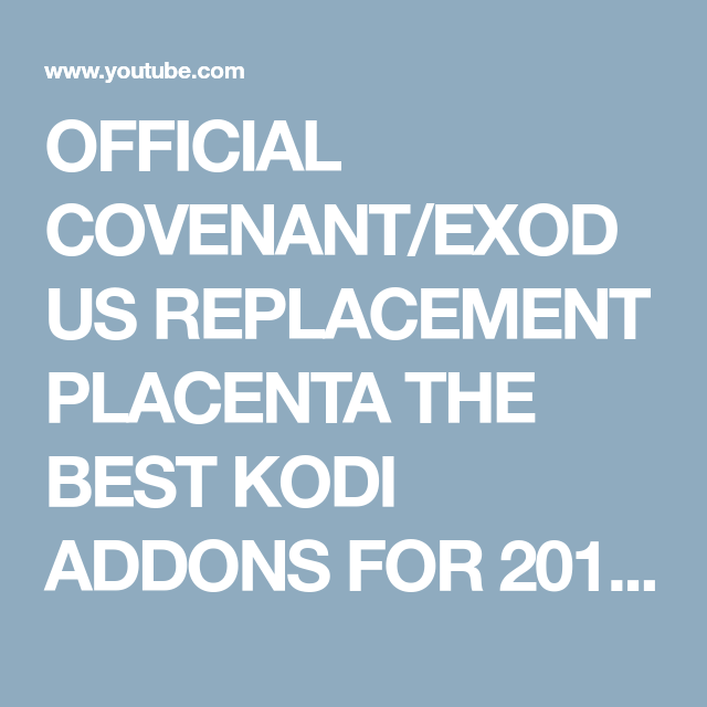 best exodus replacement