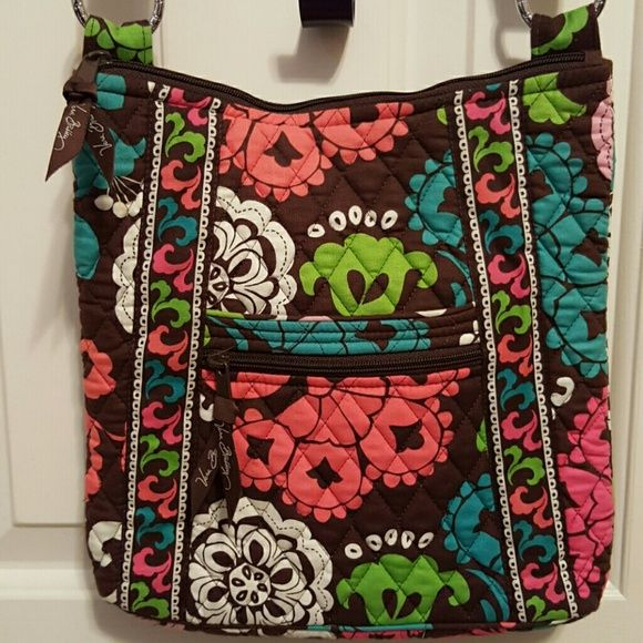 Vera Bradley Hipster Multi-color, Next to new. No wear, tears or stains. Adjustable straps can be worn as a shoulder bag or crossbody. Vera Bradley Bags Crossbody Bags