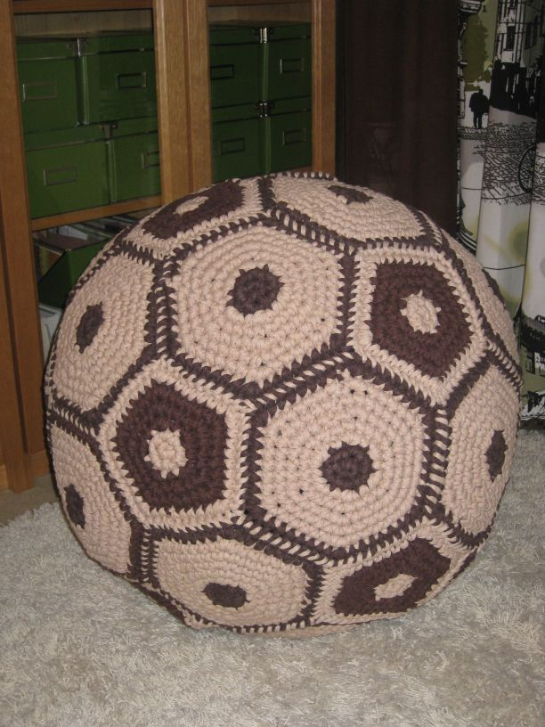 DIY crochet XL ball