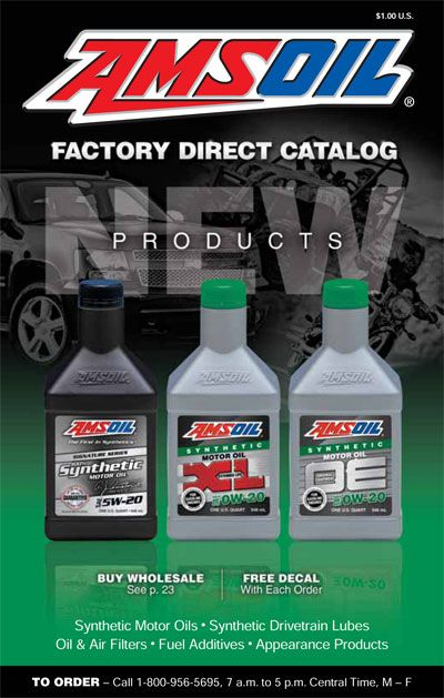 A Plethora Of Amsoil Lubrication Products For Multiple