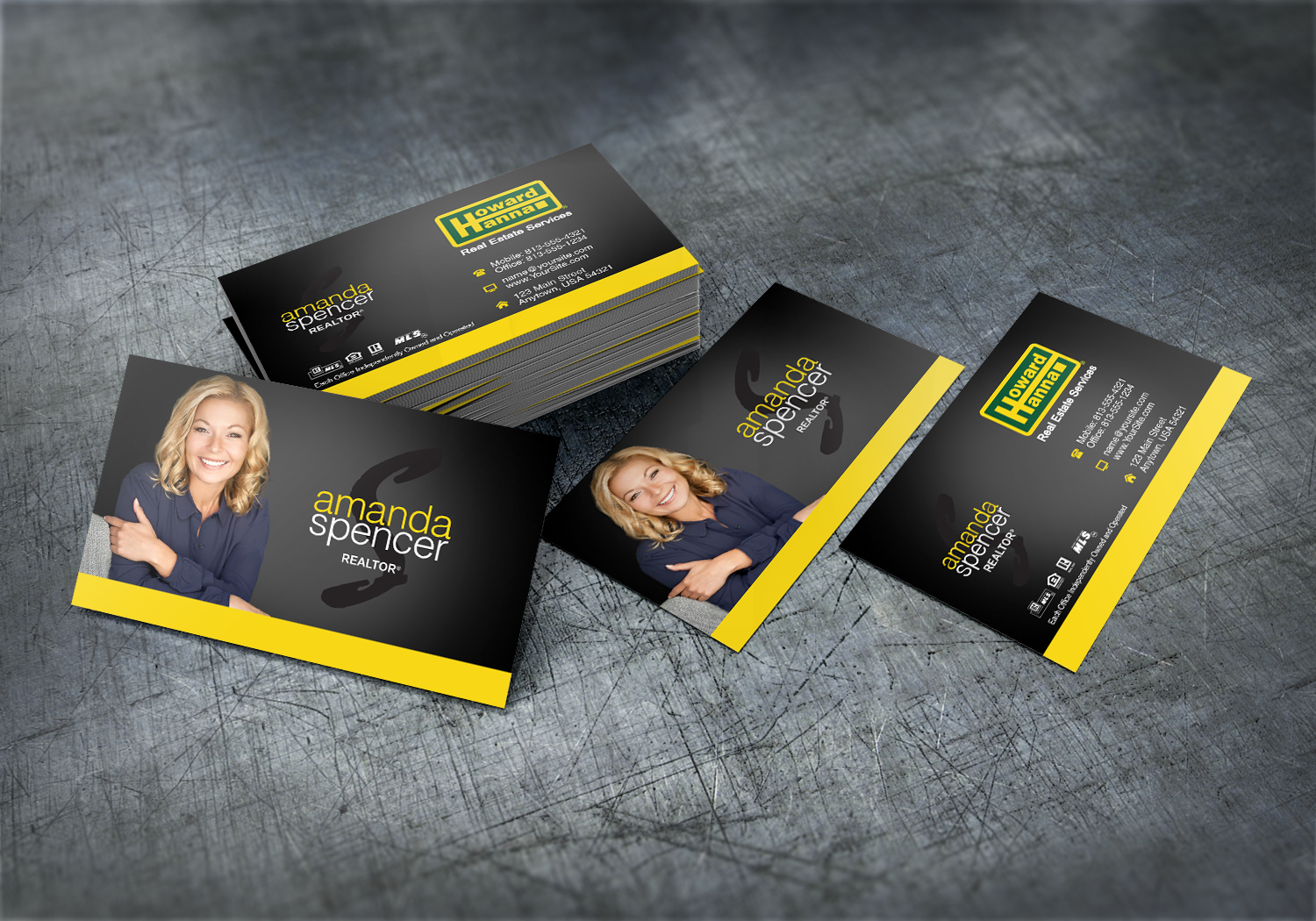 Howard Hanna Business Cards Have Never Looked Better Realtor Howardhanna Reale High Quality Business Cards Business Cards Online Real Estate Business Cards