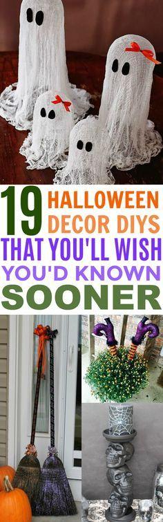 19 Spook-tacular DIY Halloween Decor That\u0027ll Make You Scream With