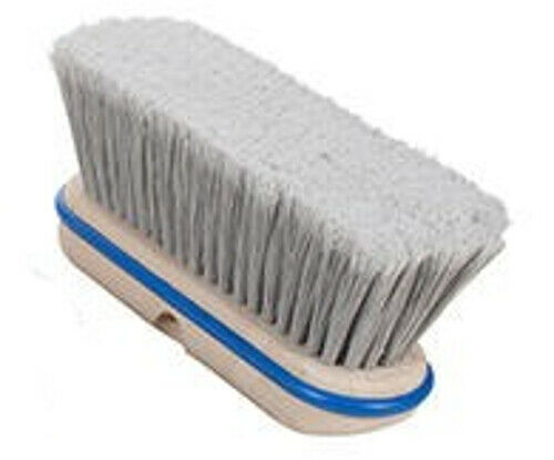 "Magnolia Brush #3736 36/"" Pro Series Silver Flagged Tip Plastic Push Broom Head"