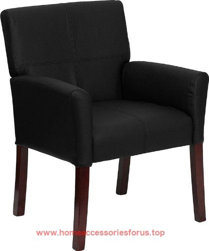 Flash Furniture BT-353-BK-LEA-GG Black Leather Executive Side/Reception Chair with Mahogany Legs  BUY NOW     $97.52    Show off your sense of style with this elegantly designed side or reception chair. The contemporary styling of the chair provi ..  http://www.homeaccessoriesforus.top/2017/03/08/flash-furniture-bt-353-bk-lea-gg-black-leather-executive-sidereception-chair-with-mahogany-legs-2/