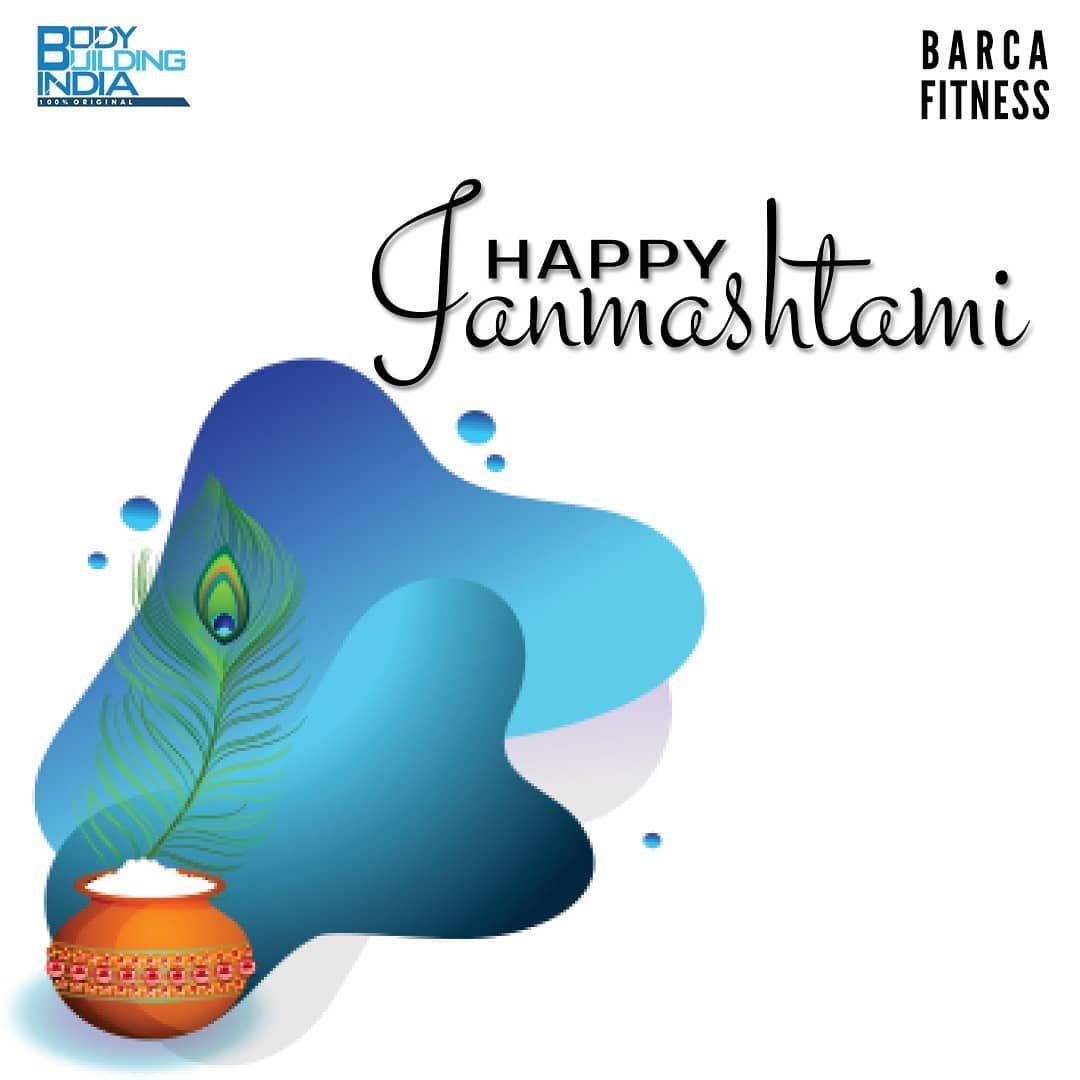 Wish you all a very Happy Janmashtami- Team Barca Fitness . . . . . #barcafitness #kharadi #kharadip...