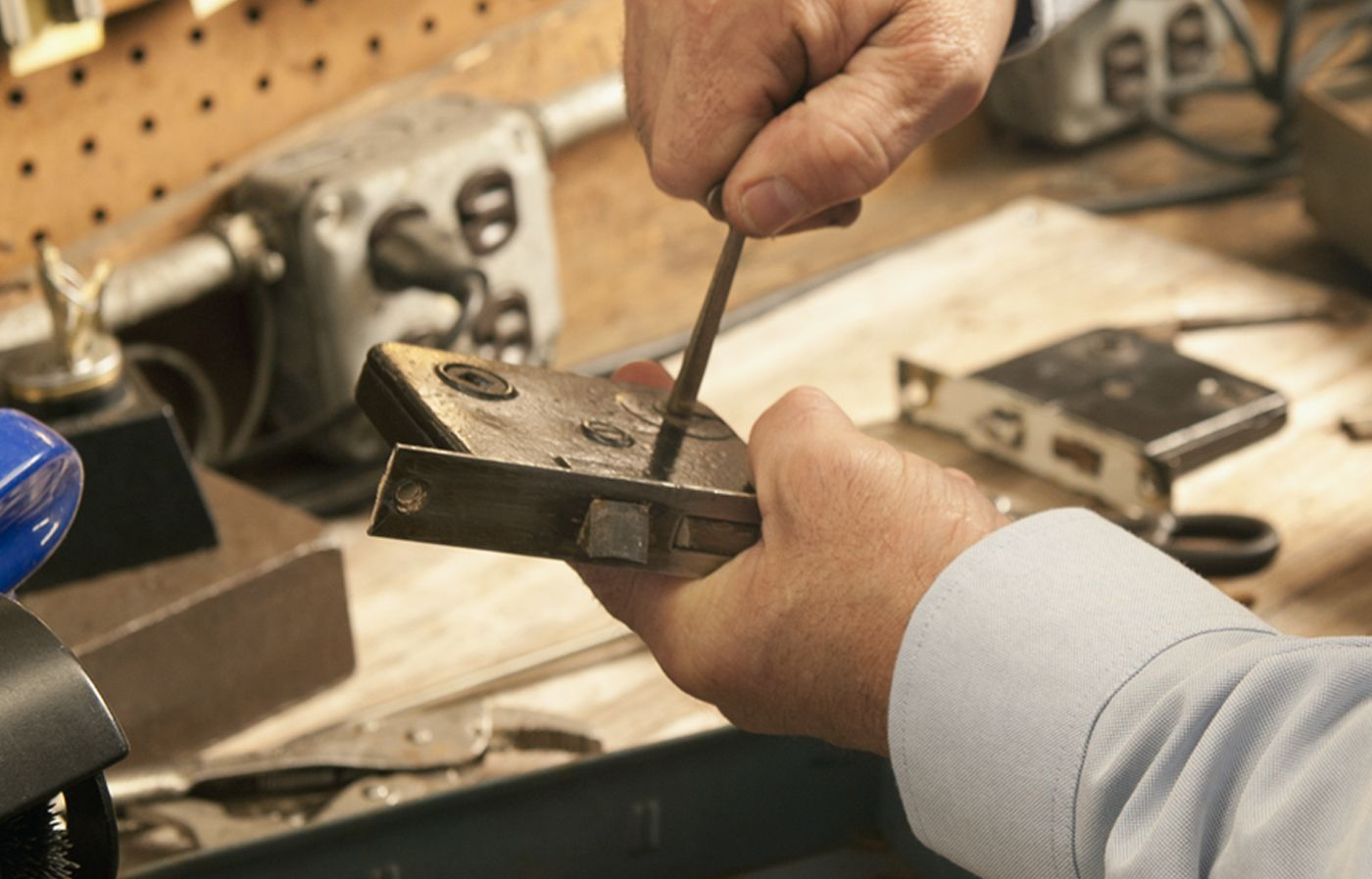 How to Make a New Key for an Old Mortise Lock Mortise