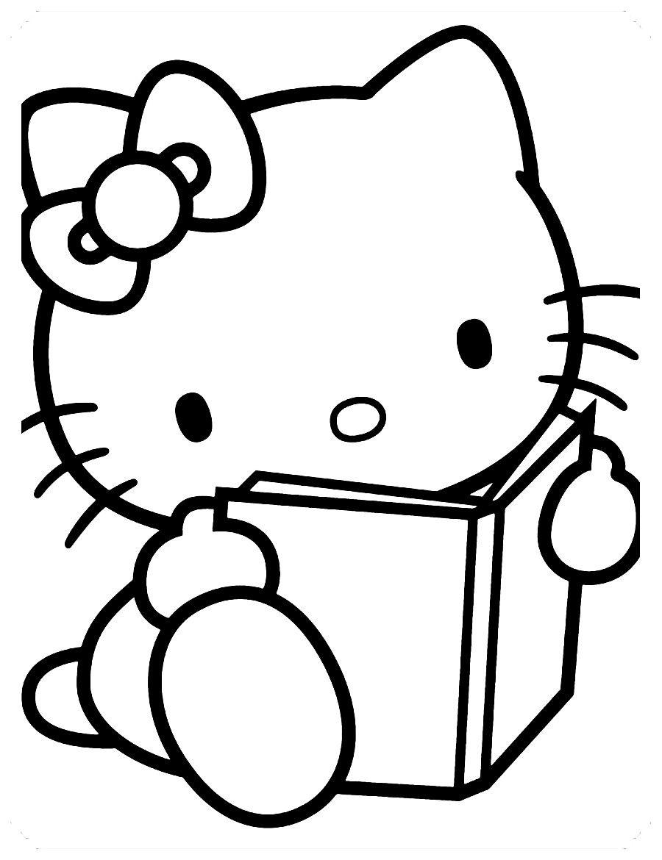Dibujos De Hello Kitty Para Colorear Hello Kitty Para Colorear