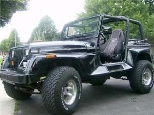 1993 Jeep Renegade Hard Top Lifted Oversize Tires City Of