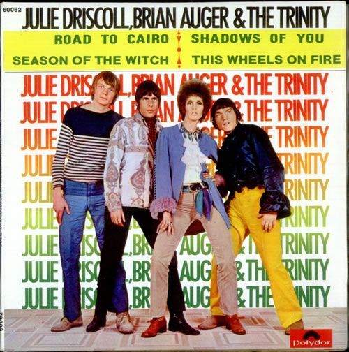 Julie Driscoll, Brian Auger and The Trinity.