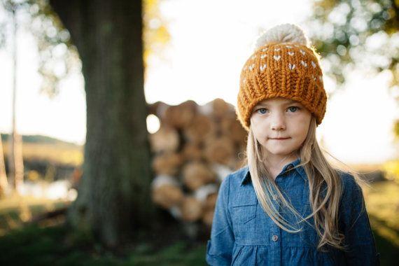 Hat Pattern // Knit Hat Pattern // Toddler Hat Pattern // Fair ...