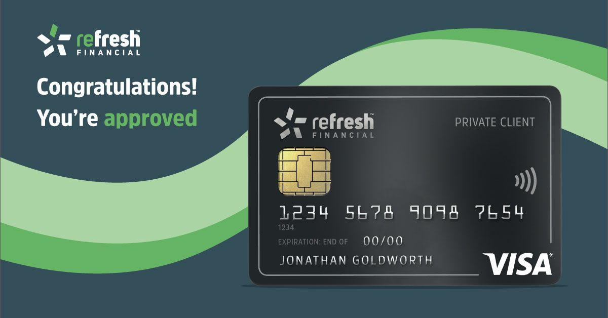 Congragulations youre approved secure credit card