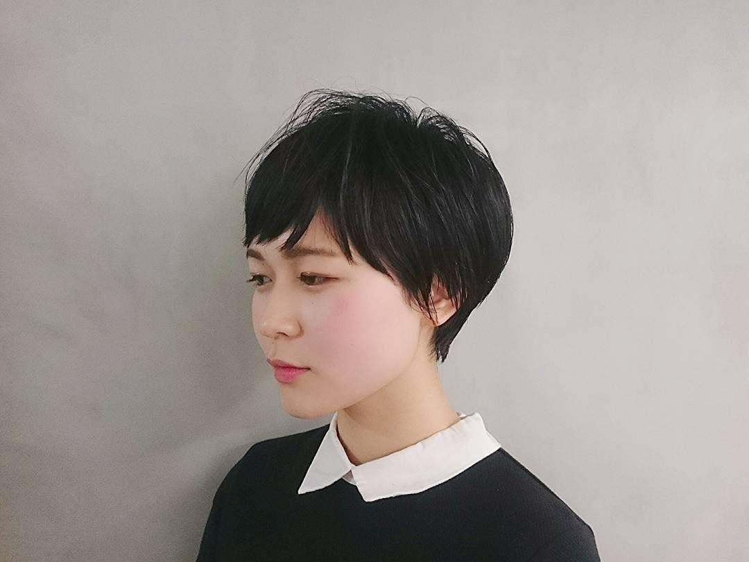 2020 春 大人女子におすすめの 黒髪ショートヘア 17選 黒髪