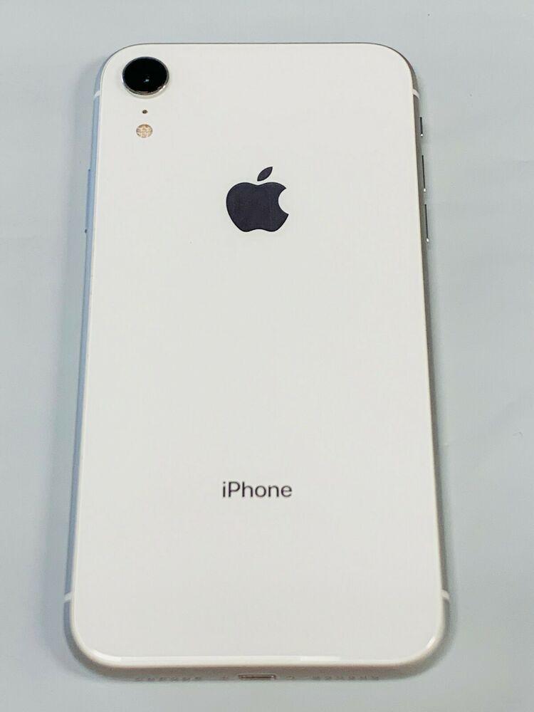 Apple iPhone XR WHITE 64GB (A1984) CDMA GSM Factory