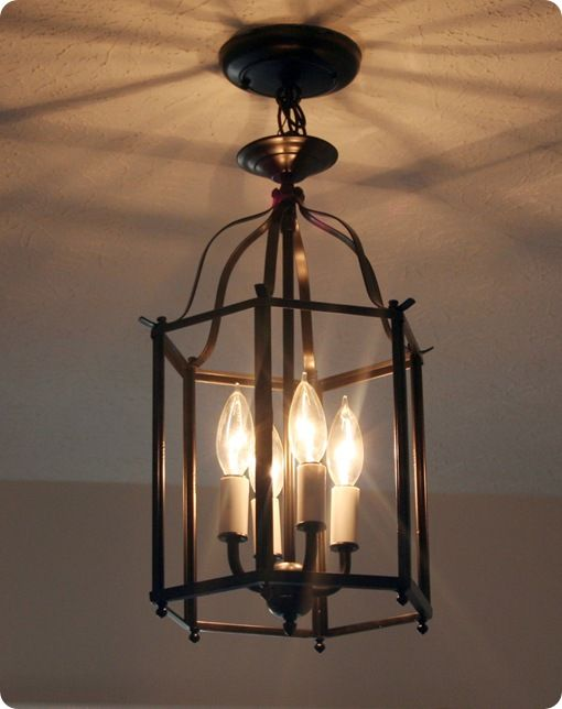 what is a lighting fixture. $5 Entryway Light Makeover That Reminds Me Of A Pottery Barn Lamp. What Deal Is Lighting Fixture P