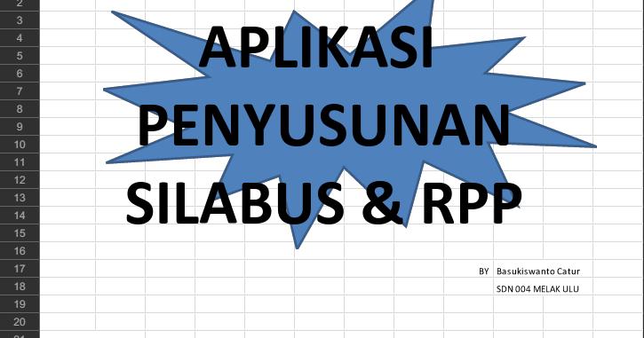 Download Aplikasi Pembuatan Silabus Rpp Aplikasi Belajar Buku