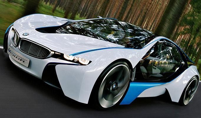 Faster forward Imagining the future car of 2050 Bmw i8 BMW and Cars