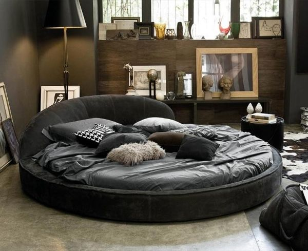 Leder Bett Design Dandy