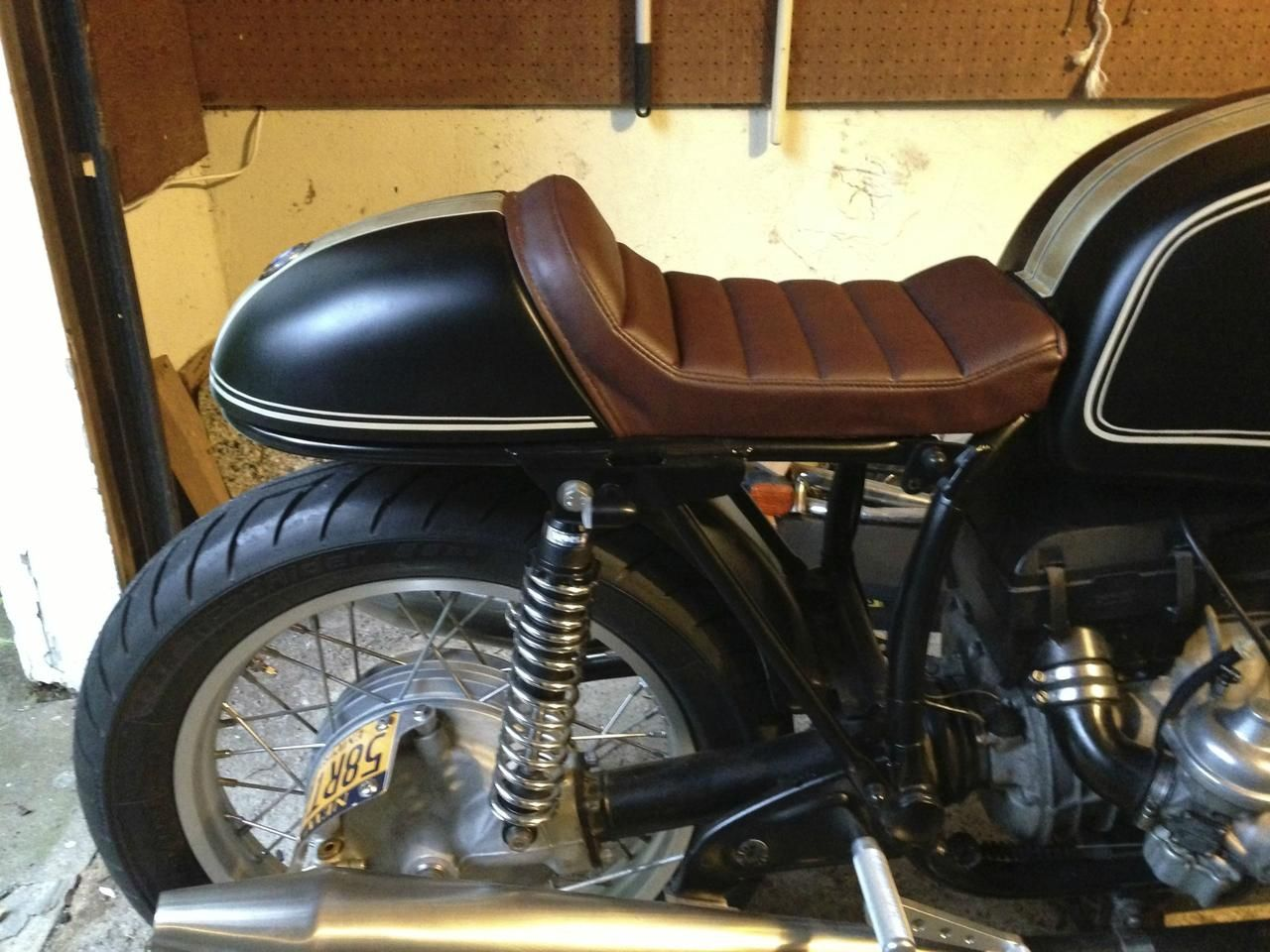 Click This Image To Show The Full Size Version Cafe Racer SeatCafe