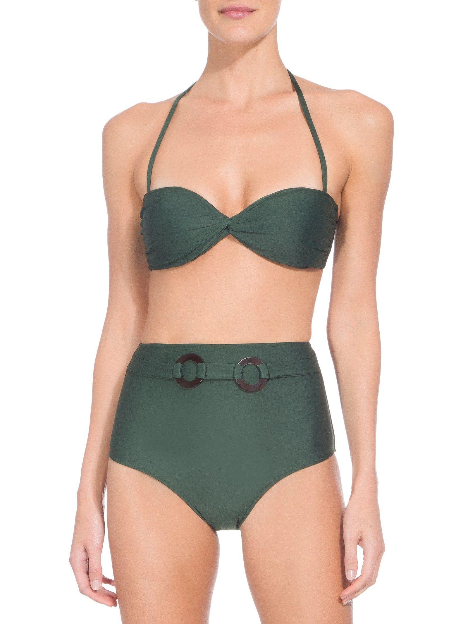 91a2723b6182 Biquíni Hot Pants - Adriana Degreas - Verde - Shop2gether | Vacay em ...