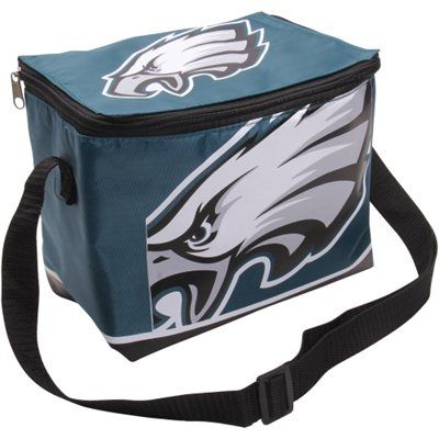 Philadelphia Eagles Zippered Insulated Lunch Bag - Midnight Green