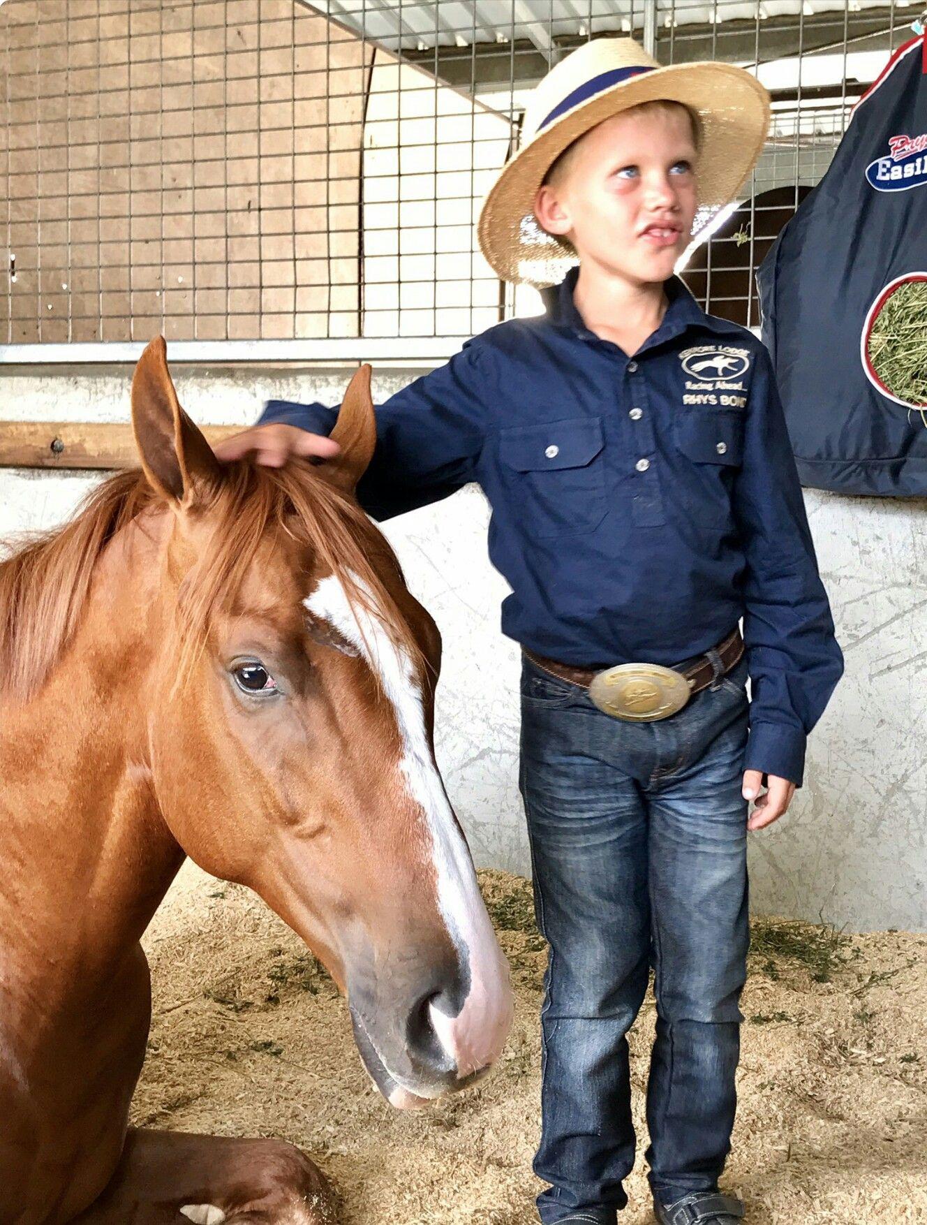 Sebring colt x Holly Zou with Rhys Bond