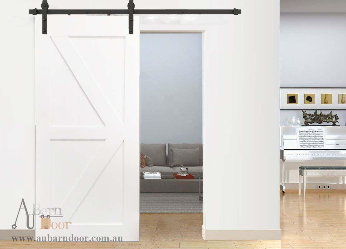 K Brace White Internal Doors Barn Door D05w White Barn Door White Internal Doors Internal Doors