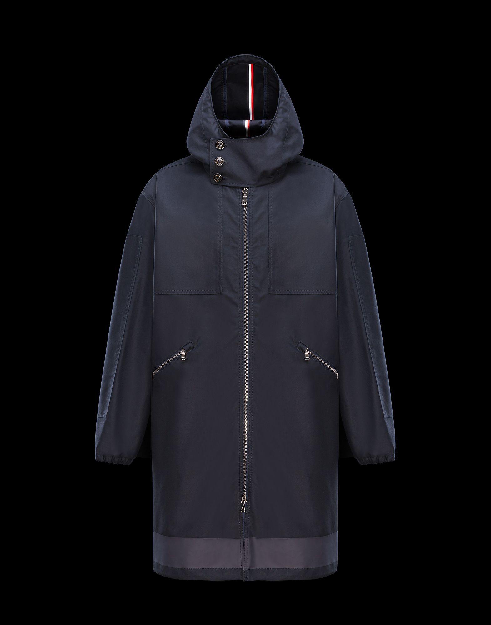 JEAN SIMON in Raincoat for Men Moncler Mens raincoat