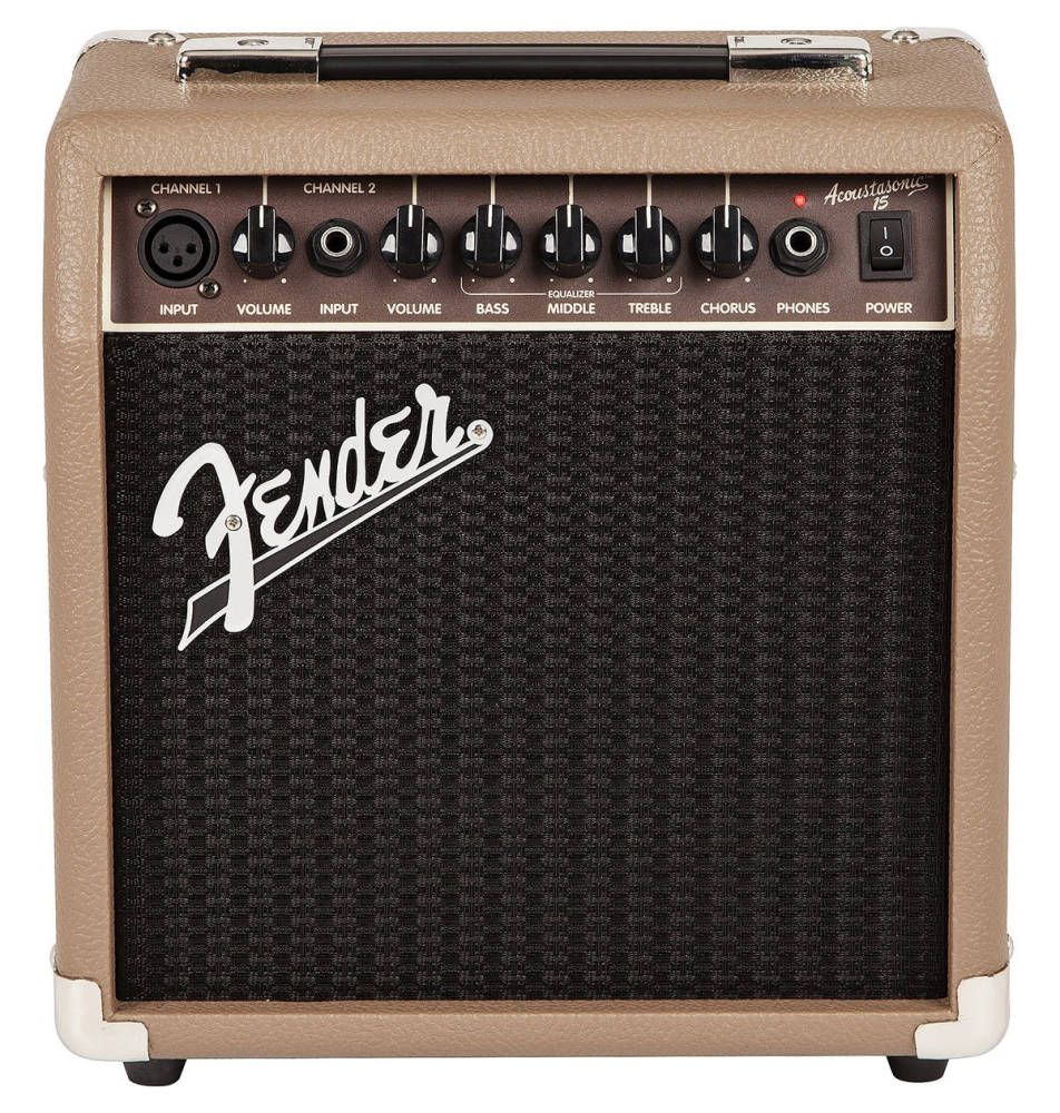 Fender Musical Instruments Acoustasonic 15w Acoustic Guitar Amp Acoustic Guitar Amp Fender Guitar Amps Acoustic Guitar