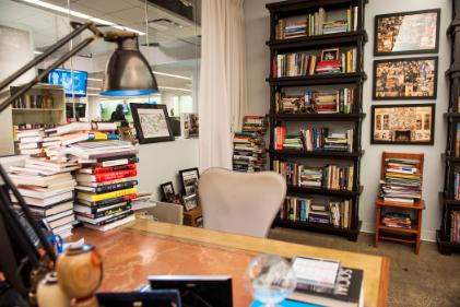 Where I Work A Fishbowl Into The Newsroom Linkedin Fish Bowl Home Home Decor