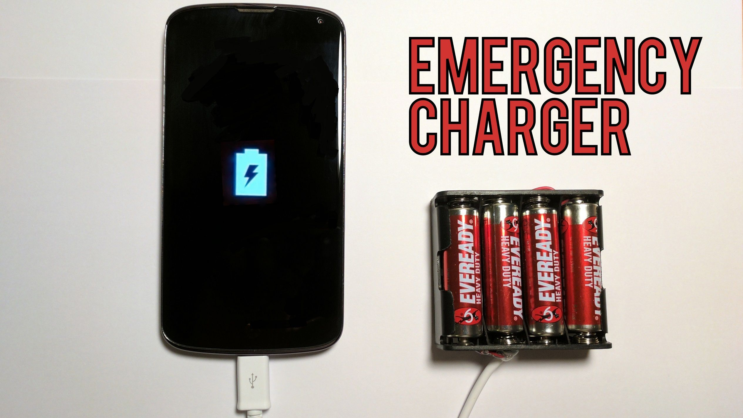 Looking for a way to charge your phone when you are