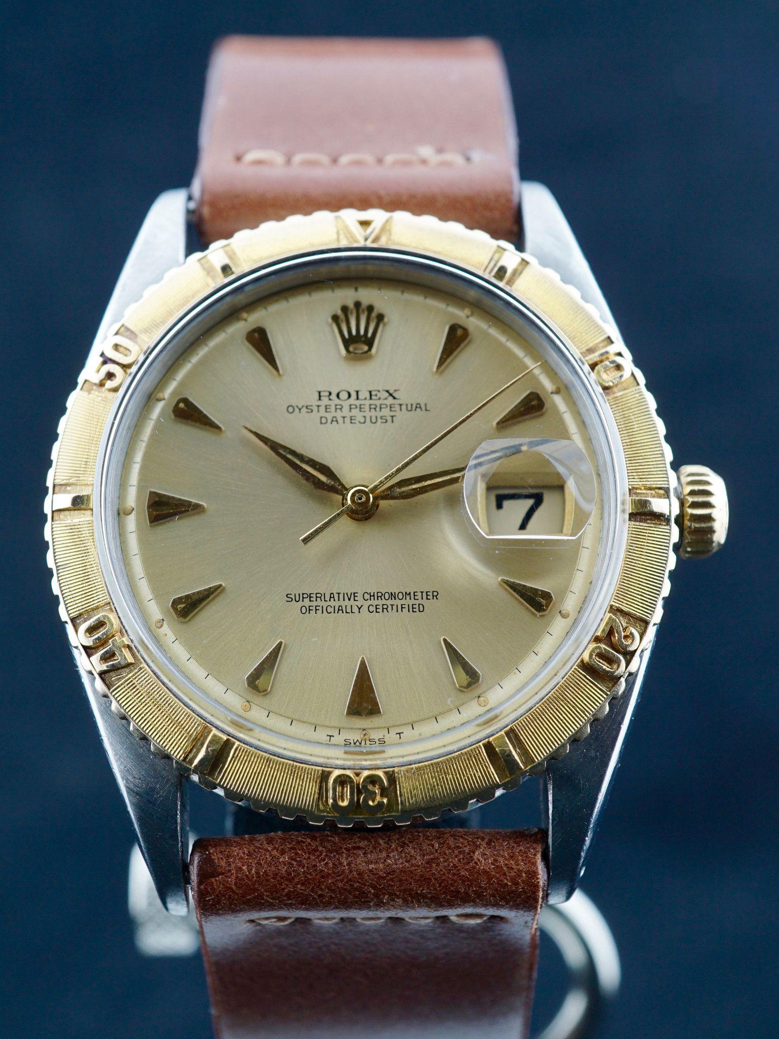 1963 Rolex Two Tone DateJust Turn O Graph Ref 1625